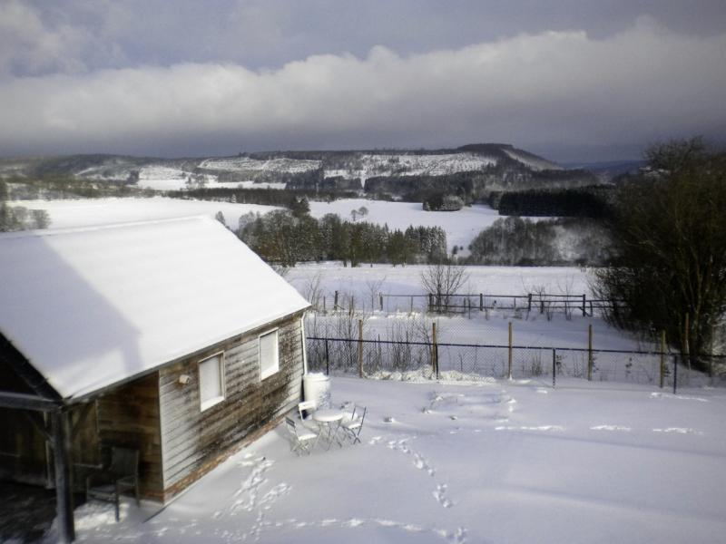 Vakantiehuis Les 4 Saisons - Winter Tafereel